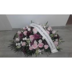 Centro mortuorio ovalado